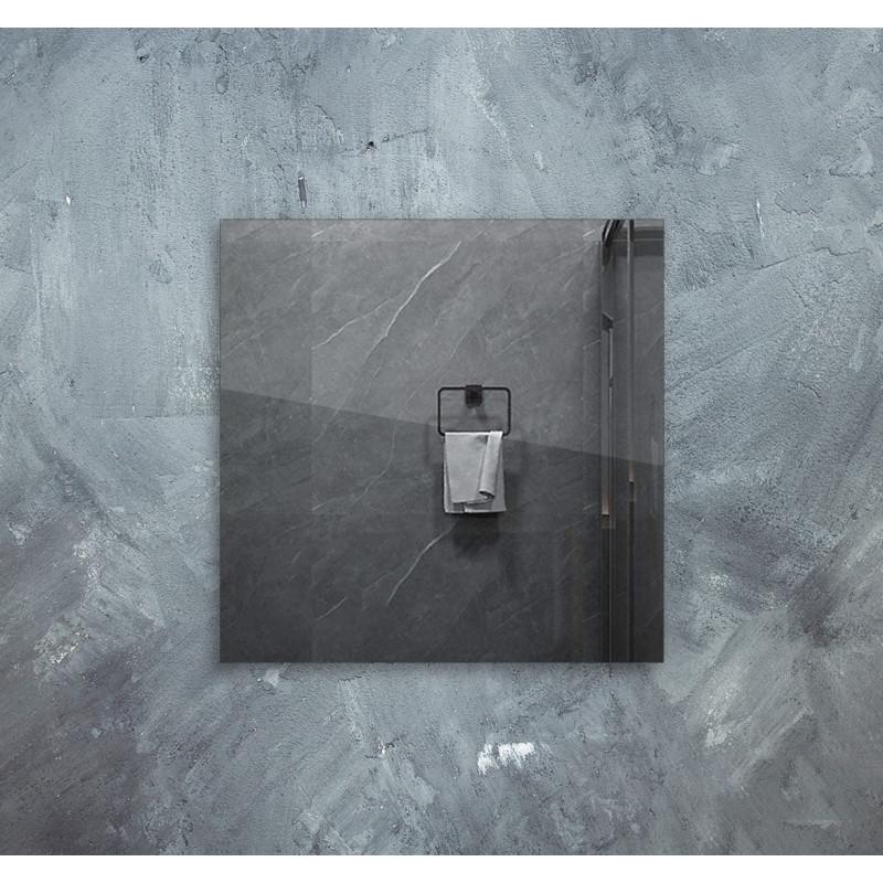 Infra topné zrcadlo 60x60cm 320W s LED osvětlením 10W