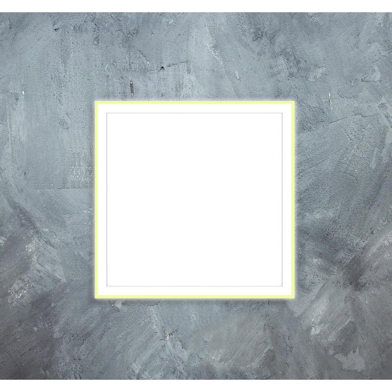 Stropní infra topný panel 70x70cm 350W s LED světlem 25W
