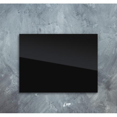 Skleněný infra topný panel černý 60x80cm 450W