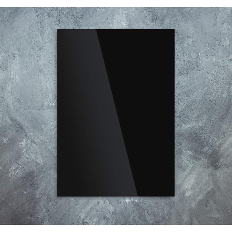 Skleněný infra topný panel černý 60x120cm 7000W