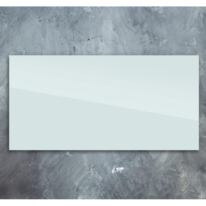 Skleněný infra topný panel bílý 60x120cm 700W