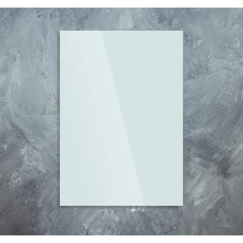 Skleněný infra topný panel bílý 60x100cm 580W